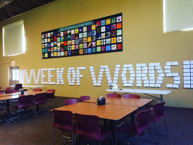 Week of Words Wall