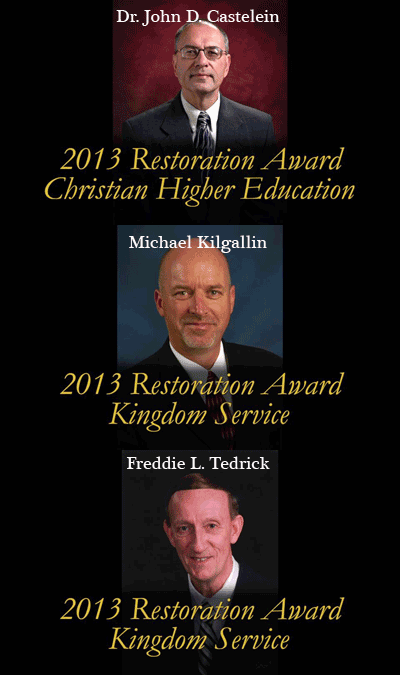 Restoration Awards 2013