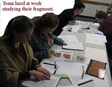 Studying Manuscript Fragment