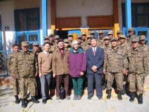 Gobi border post
