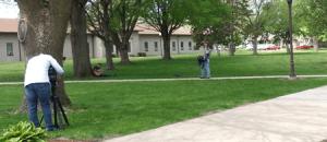 NBC filming on LCU campus