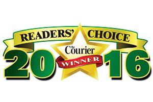 2016 Courier Readers Choice Award
