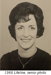 Sue Tesmer Rogers 1966