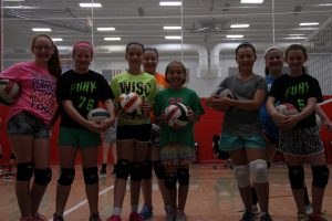 Volleyball camp 2014