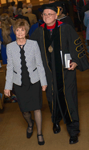 President Green and wife
