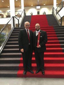 Mark Mangano and Fred Hansen