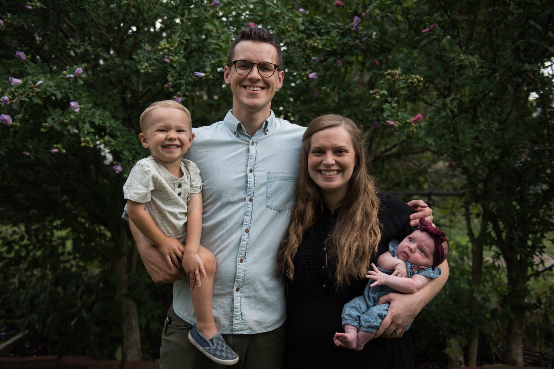 Austin and Julie Gohn family