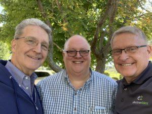 David Roadcup, Jim Estep, and Gary Johnson